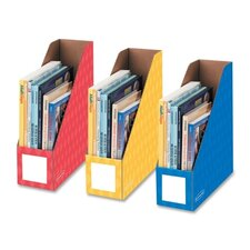 <strong>Fellowes Mfg. Co.</strong> Bankers Box Magazine File Holder (Set of 3)