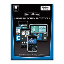 Universal Screen Protectors (Set of 5)