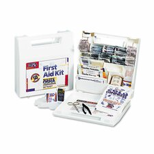 <strong>First Aid Only™</strong> First Aid Kit for 50 People, 195 Pieces, Osha/Ansi Compliant, Plastic Case