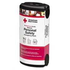 American Red Cross Personal Safety Pack for One Person, Nylon Backpack