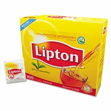 Lipton Tea Bags, Regular, 100/Box