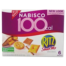 <strong>FIVE STAR DISTRIBUTORS, INC.</strong> Nabisco Ritz 100 Calorie Snack Mix, 6/Box