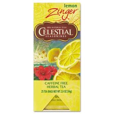 <strong>FIVE STAR DISTRIBUTORS, INC.</strong> Celestial Seasonings Tea, Herbal Lemon Zinger, 25/Box