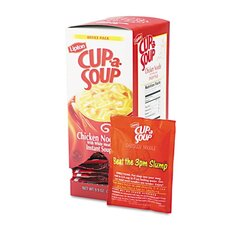 Lipton Cup-A-Soup, Chicken Noodle, Single Serving, 22/Pack