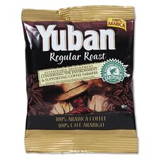 <strong>FIVE STAR DISTRIBUTORS, INC.</strong> Yuban Regular Roast Coffee, 1 1/2 Oz Packs, 42/Carton