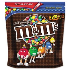 M & M's Milk Chocolate with Candy Coating, 42 Oz Bag