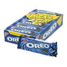 Nabisco Oreo Cookies, 6-Cookie Pack, 12 Packs/Box
