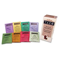 Tazo Assorted Tea Bags, Three Each Flavor, 24 Tea Bags/Box