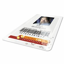 HeatSeal Thermal Laminating Pouch, 5 mil, 2-9/16 x 3-3/4, ID Size, 100