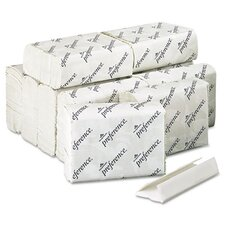Preference C-Fold 1-Ply Paper Towel - 200 Sheet per Pack / 12 Packs per Carton