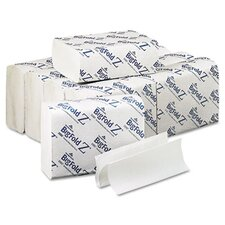 Bigfold Z 1-Ply Paper Towels - 220 Sheet per Pack / 10 Pack per Carton