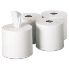 Sofpull Perforated 1-Ply Paper Towel - 560 Sheets per Roll / 4 Roll per Carton