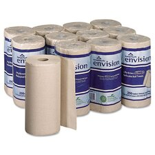 Envision Perforated 2-Ply Paper Towel - 250 Sheets per Roll / 12 Rolls per Carton
