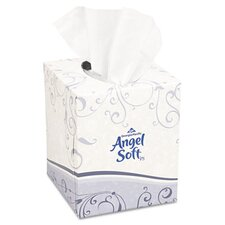 Angel Soft Ps Premium Facial 2-Ply Tissue - 96 Sheets per Box / 36 Boxes per Carton