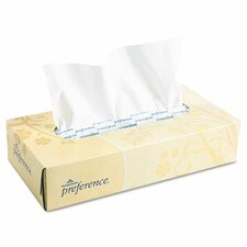 Preference Facial 2-Ply Tissue - 100 Sheets per Box / 30 Boxes per Carton