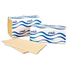 Windsoft Embossed 1-Fold Paper Towels - 250 Sheet per Pack / 16 Pack per Carton