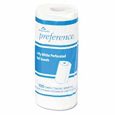 Preference Perforated Paper Towel Roll, 100/Roll