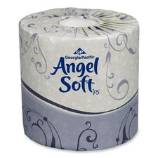 Angel Soft Ps Premium 2-Ply Toilet Paper - 450 Sheets per Roll / 20 Rolls per Carton