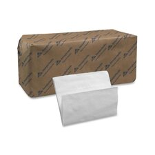 "(6000 per Carton) Full Fold White Napkins, 1-Ply, 12""x17"""