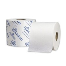 Envision High-Capacity Standard 1-Ply Bath Tissue - 1500 Sheets per Roll