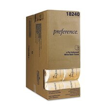 Preference Embossed 2-Ply Bath Tissue - 550 Sheets per Roll / 40 Rolls