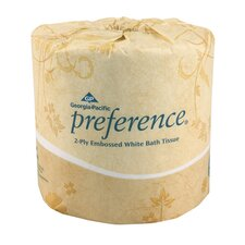 Preference Standard 2-Ply Bath Tissue - 550 Sheets per Roll