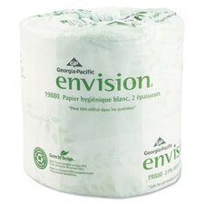 Envision Standard Bath 2-Ply Tissue - 550 Sheets per Roll