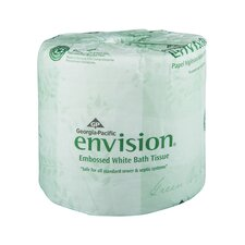 Envision Embossed 1-Ply Bathroom Tissue