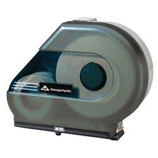 Jumbo Jr. Tissue Dispenser with Stub Roll and Mandrel in Smoke (Set of 4)