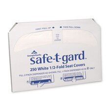 Safe-T-Gard Half-Fold Toilet Seat Cover