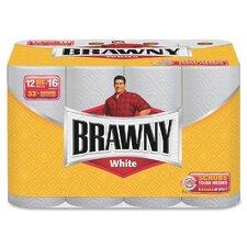 Brawny Big Roll 2-Ply Paper Towels - 62 Sheets per Roll / 12 Rolls