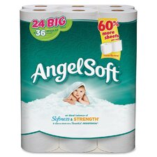 2-Ply Toilet Paper - 198 Sheets per Roll / 24 Rolls