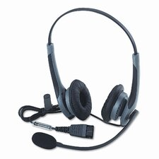 GN 2025NCNB Cord Flex Over-Head Standard Telephone Headset