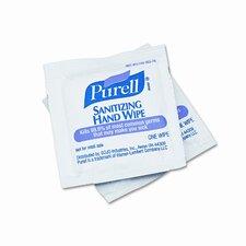 Premoistened Sanitizing Hand Wipes, Towelettes Individually Wrapped , 100/box (Set of 11)