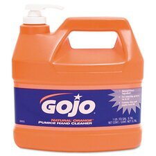 Natural Orange Pumice Hand Cleaner - 1 Gallon / 4 per Carton