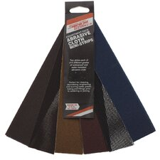 Abrasive Cloth Mini Strips Assortment Pack 18570