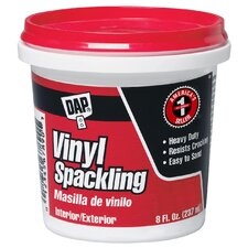 1/2 Pint Vinyl Spackling Compound Interior 12130