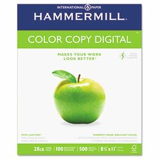 Color Copy Paper, 100 Brightness, 28Lb, 8-1/2 X 11, 500/Ream