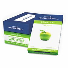 <strong>Hammermill</strong> Color Copy Paper, 100 Brightness, 28Lb, 11 X 17, 500/Ream
