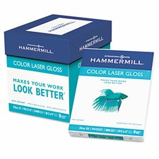 <strong>Hammermill</strong> Color Laser Gloss Paper, 94 Brightness, 32Lb, 300 Sheets/Pack
