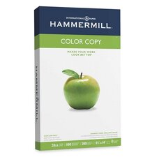 <strong>Hammermill</strong> Color Copy Paper, 100 Brightness, 28Lb, 8-1/2 X 14, 500/Ream