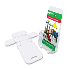 6 Pocket Foldem-Up Literature Holder