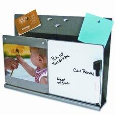 Mystyle Stainless Steel Docupocket with White Board