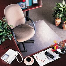 <strong>Deflect-O Corporation</strong> RollaMat Medium Pile Carpet Beveled Edge Chair Mat