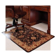 <strong>Deflect-O Corporation</strong> Caper Low Pile Carpet Chair Mat