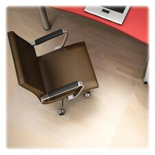 <strong>Deflect-O Corporation</strong> Polycarbonate Hard Floor Straight Edge Chair Mat
