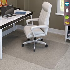 <strong>Deflect-O Corporation</strong> SuperMat Medium Pile Carpet Beveled Edge Chair Mat