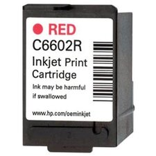 OEM Ink Cartridge, 7 Page Yield, Red