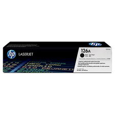 <strong>HEWLETT PACKARD SUPPLIES</strong> OEM Toner Cartridge, 1200 Page Yield, Black