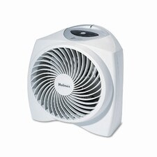 Holmes One-Touch Whisper Quiet 1,000 Watt Fan Forced Compact Electric Space Heater with Auto Shut-Off